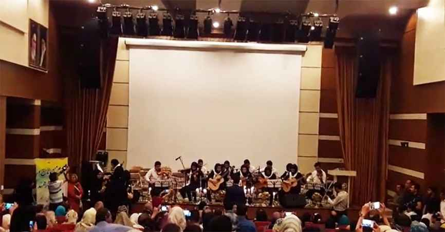 Arad Pop Orchestra conducted by Amir Karimi